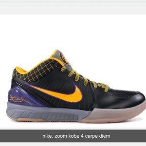 Nike Zoom Kobe 4 Carpe Diem